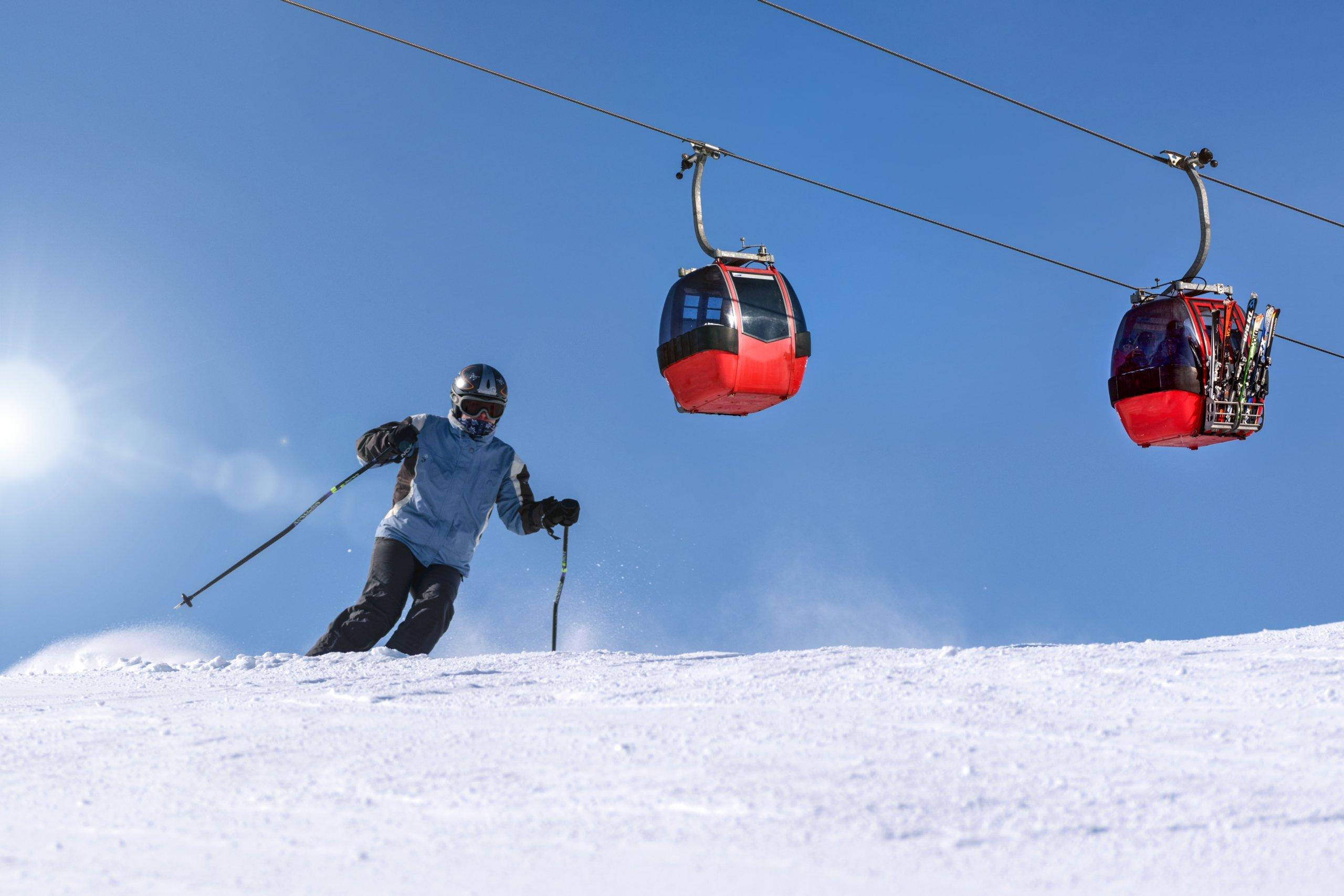 medical conference snow gondola